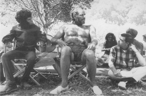 Behind the scenes of Planet Of The Apes