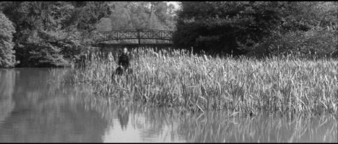 Ghostly image from The Innocents (1961)