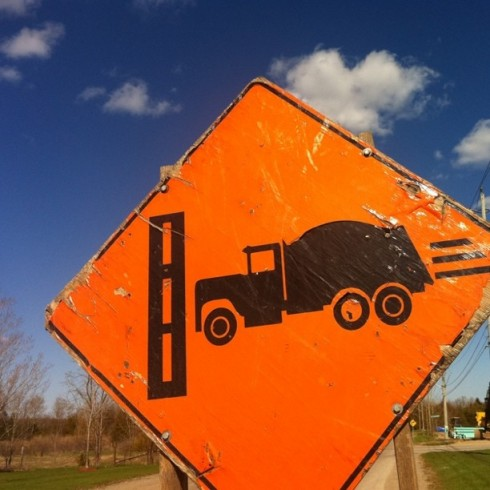 Caution: Trucks Slamming Into Walls Ahead