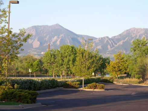 Joe's view from Boulder