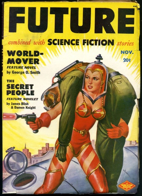 1950 cover of FUTURE