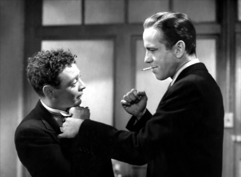 Bogart & Lorre, still from The Maltese Falcon