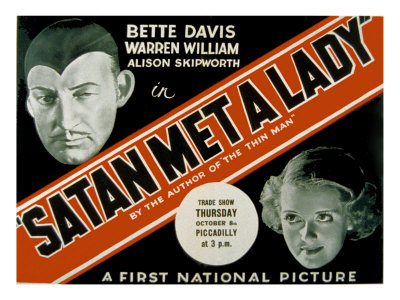 Poster for Satan Met a Lady