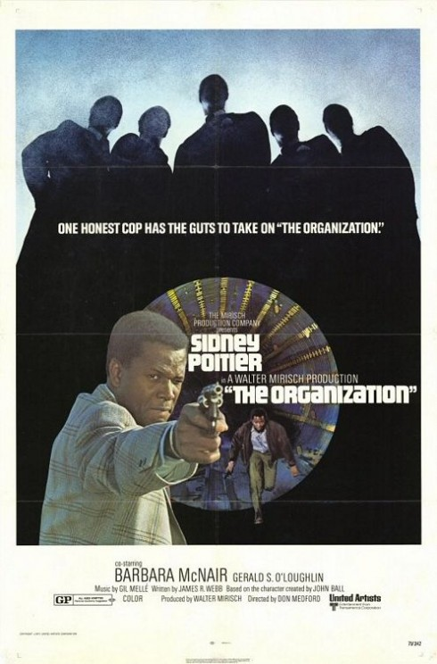Movie poster for The Organization