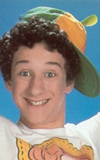 Screech, from Saved By The Bell