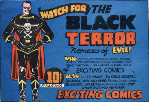 Watch for the Black Terror