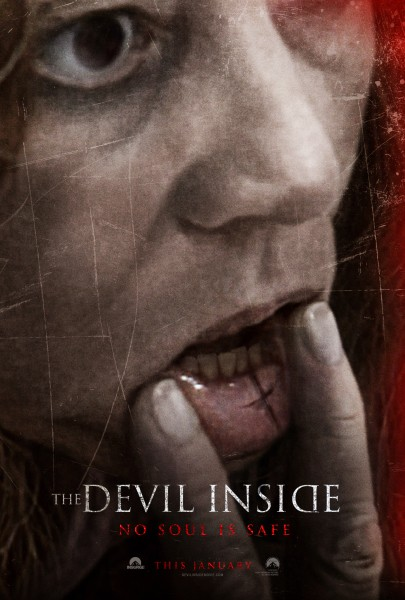 The Devil Inside Teaser Poster