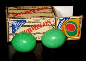 Willy Wonka's Watermelon Jawbreakers