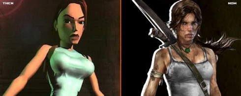 Lara Croft, Tomb Raider: Then and Now, by GamesRadar