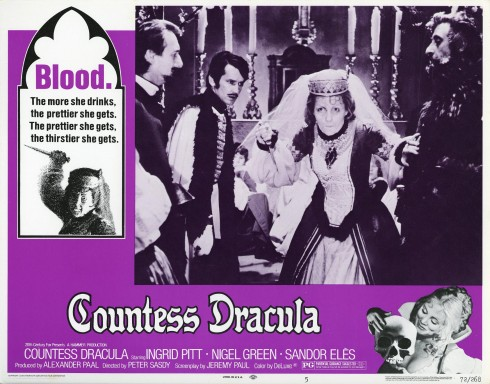 Countess Dracula lobby card