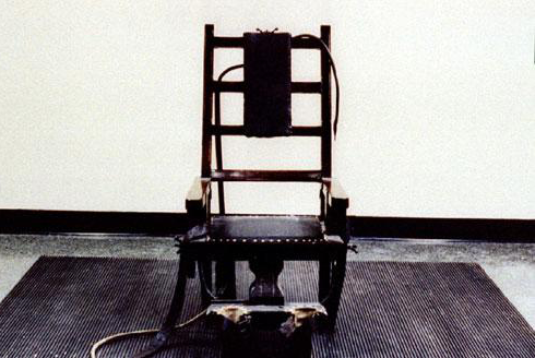 Electric Chair, from Reuters