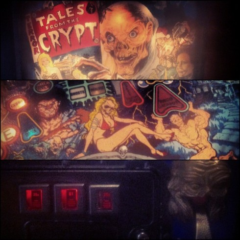 Tales from the Crypt pinball!
