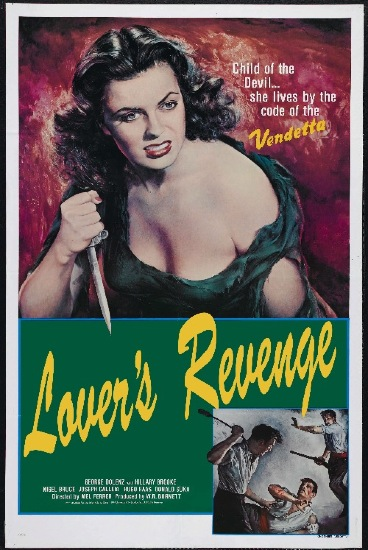 Lover's Revenge - Poster owned by Joey of Friends