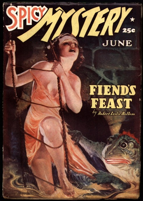 Spicy Mystery, June, 1936 - Fiend's Feast
