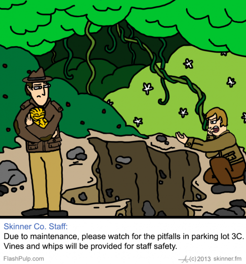 Skinner Co. Ink #45: Parking Pitfalls