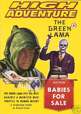 High Adventure - The Green Lama: Babies for Sale