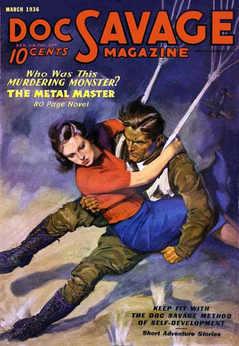 Doc Savage March 1936