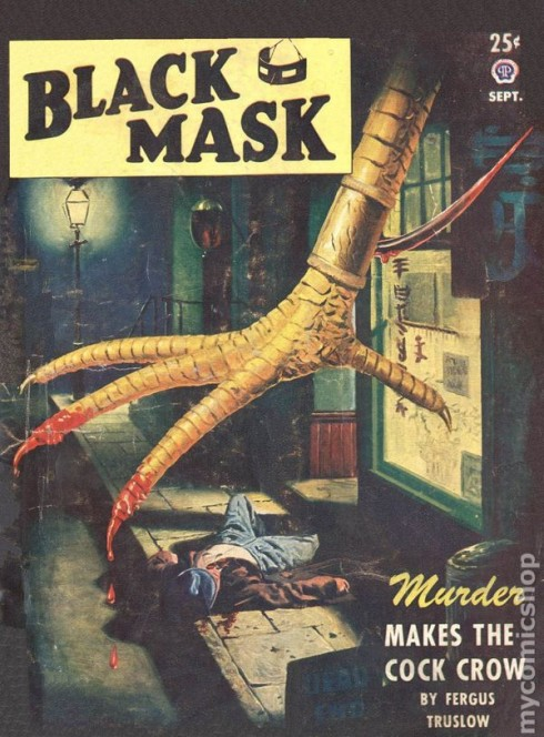 Black Mask - Giant Chicken Pulp Cover