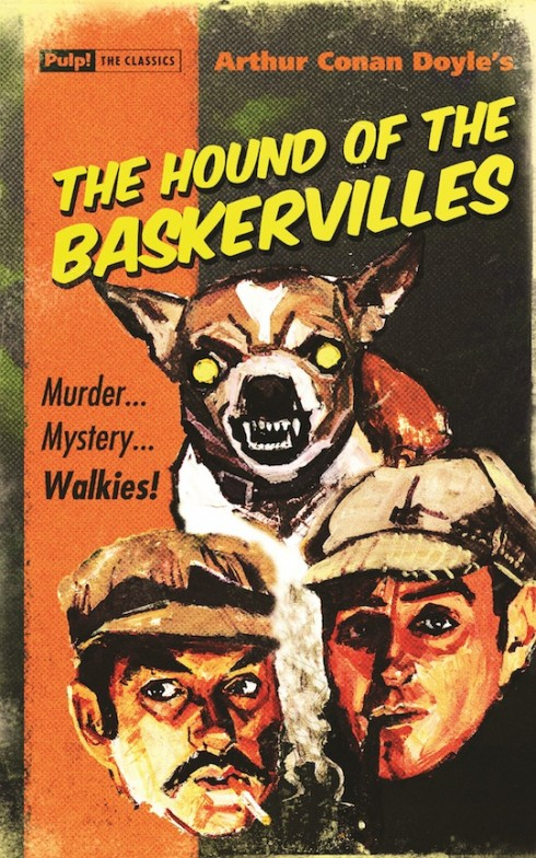 The Hound of the Baskervilles -  Oldcastle Books Pulp Cover
