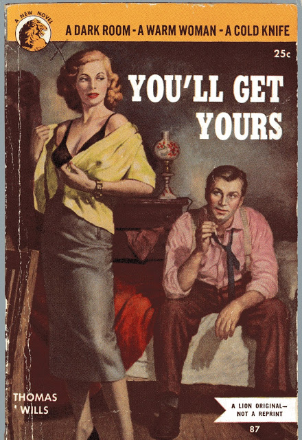 You'll Get Yours - Pulp Cover